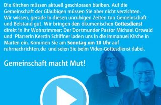 Ökumenischer Video-Gottesdienst aus Huckarde