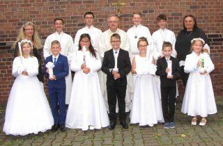 Erstkommunion 2020 im Pastoralen Raum Dortmund-Ost